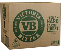 Victoria Bitter Bottle 750mL