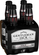 Jack Daniels Gentleman Jack & Cola Bottle 330mL