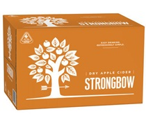 Strongbow Crisp Apple Cider Bottle 355mL