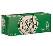 Three Oaks Pear Cider 10pk Can 375mL