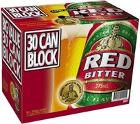 Red Bitter Block Can 375mL