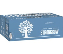 Strongbow Lower Carb Apple Cider Can 375mL (10pack)