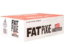 Fat Pixie Hard Ginger Beer Can 375mL