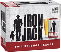 Iron Jack Red Block Can 375mL
