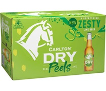 Carlton Dry Natural Lime Bottle 330mL