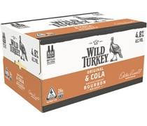 Wild Turkey & Cola Bottle 340mL