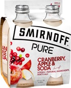 Smirnoff Pure Cranberry Apple & Soda 300mL | Tuggl