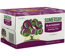 Somersby Blackberry Bottle 330mL