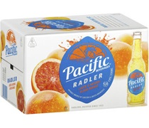 Pacific Beverages Radler Blood Orange Bottle 330mL