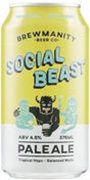 Brewmanity The Social Beast Pale Ale Can 375mL