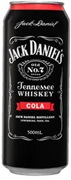 Jack Daniel's & Cola Tallie Can 500mL