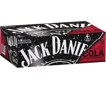 Jack Daniels & Cola Can 375mL