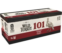Wild Turkey & Cola 101 Can 375mL (10 pack)