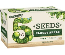 5 Seeds Cloudy Apple Cider Bottle 345mL