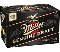 Miller Genuine Draft Bottle 330mL