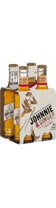 Johnnie Walker & Ginger 345mL Bottles (4Pack)