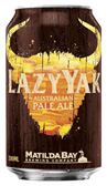 Matilda Bay Lazy Yak Pale Ale Can 330mL (10Pack)