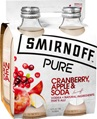 Smirnoff Pure Cranberry Apple & Soda 300mL
