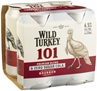 Wild Turkey 101 & Zero Sugar Cola Can 375mL