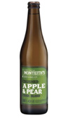 Monteiths Crushed Apple & Pear Cider Bottle 500mL