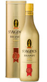 St Agnes VS Brandy Gold Tin 700mL