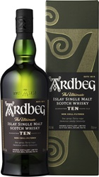 Ardbeg 10YO Single Malt Scotch Whisky 700mL