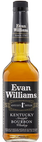Evan Williams Kentucky Bourbon Whiskey 700mL