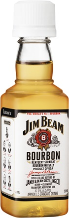 Jim Beam White Bourbon 50mL