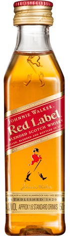 Johnnie Walker Red Scotch Whisky Min 50mL