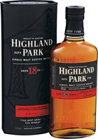 Highland Park 18YO Single Malt Scotch Whisky 700mL