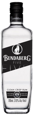 Bundaberg Five White Rum 700mL