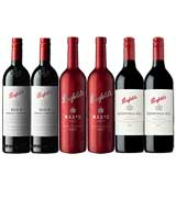 Penfolds Bin 8 + Penfolds Max's + Koonunga Hill 2+2+2 Bundle