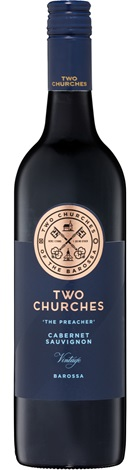 Two Churches Barossa Cabernet 750mL