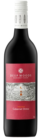 Deep Woods Ebony Cabernet Shiraz 750mL