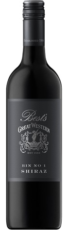 Bests Great Western Bin 1 Shiraz 750mL