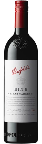 Penfolds Bin 8 Cabernet Shiraz 750mL