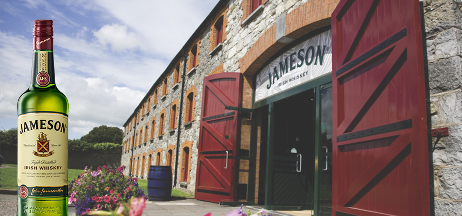 Explore the Jameson distillery in Ireland