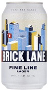 Brick Lane Fine Line Lager Can 355mL