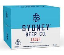 Sydney Beer Co Lager 330mL