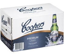Coopers Premium Lager Bottle 355mL