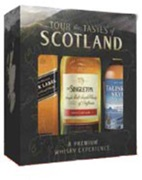 Singleton Tastes of Scotland Gift Pack 3 x 50mL