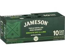 Jameson Smooth Dry & Lime (10 pack) Can