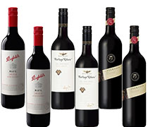Penfolds Max & Wolf Blass Altitude & Wynns 2+2+2 Bundle